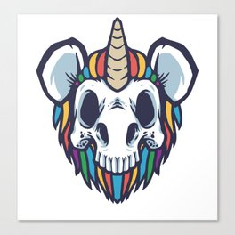 Unimouse :: HelloMickey Canvas Print