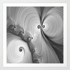 Gray Skies Art Print