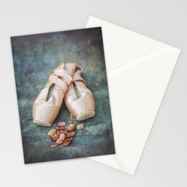 Pointe Shoes Stationery Cards