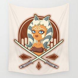 Ahsoka the padawan Wall Tapestry