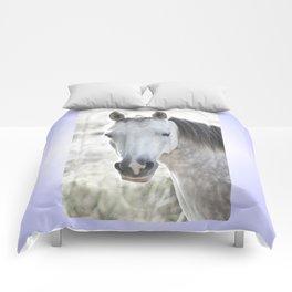 white beauty Comforters