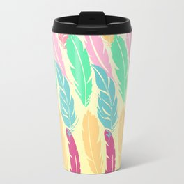 Lovely Feathers Travel Mug