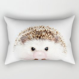 Bubble Gum Hedgehog Rectangular Pillow