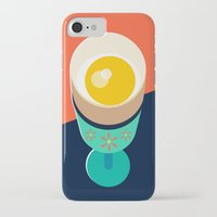 egg iPhone & iPod Cases featuring Egg by Sam Osborne