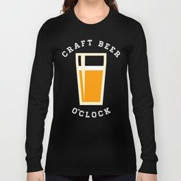 Craft Beer O'Clock Long Sleeve T-shirt