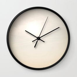 Stroll along the Beach Wall Clock