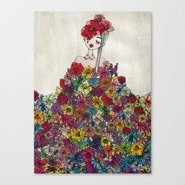 FLOWERFOOL Canvas Print