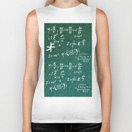 Math Equations Biker Tank