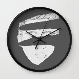 Broken Boy Wall Clock