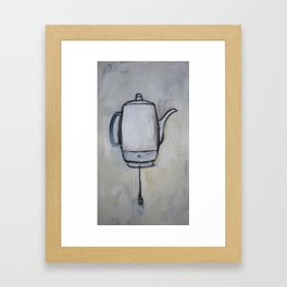 Coffee Pot - Percolator  Framed Art Print