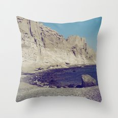 Eros Beach Throw Pillow
