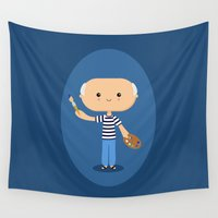 picasso Wall Tapestries featuring Pablo Picasso by Sombras Blancas Art & Design