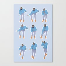 Hotline bling Canvas Print