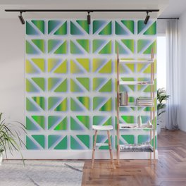 Geometric Forest Wall Mural
