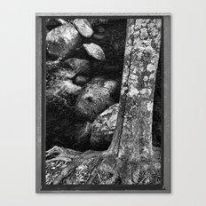 Analog tree Canvas Print