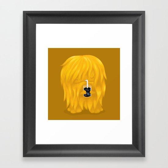 Universe Juice Framed Art Print