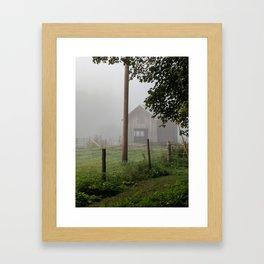 Rustic Barn Framed Art Print