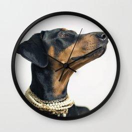 Audrey - Dalmation Dog Wall Clock