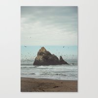 flight Canvas Prints featuring Flight by Charley Zheng