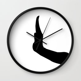 Letter I - GoldShade Wall Clock