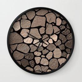 Stone texture 2 Wall Clock