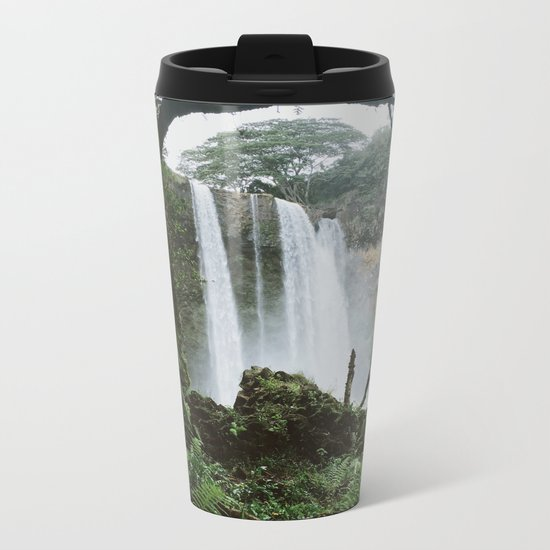 Wailua Falls Metal Travel Mug