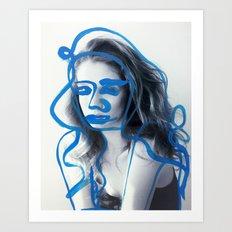 Freja Art Print