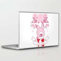 kendrawcandraw Laptop & iPad Skins featuring Little Bambi by kendrawcandraw