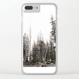 Death by carbon monoxide Clear iPhone Case