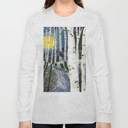 """Aspen Howl"" Long Sleeve T-shirt"