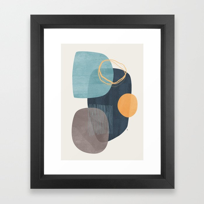 Cyra Gerahmter Kunstdruck
