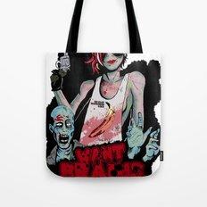 Want Brains  Tote Bag