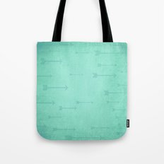 Loxley in Teal - Arrows Tote Bag