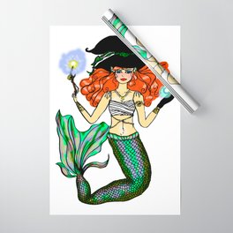 Witch Mermaid - Nathasia Wrapping Paper