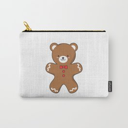 Ginger-Bear Cookie Carry-All Pouch