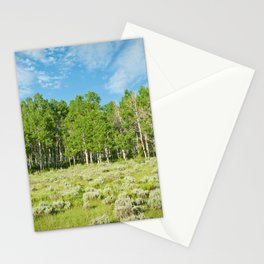 Summer skies Stationery Cards