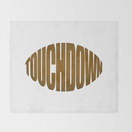Touchdown Throw Blanket