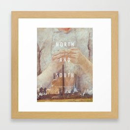 19th Century Women Writers - North and South Framed Art Print