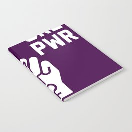 GRL PWR Fist Notebook