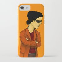 lou reed iPhone & iPod Cases featuring Lou Reed by Nick Gibney