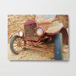 Hidden Old Rusty Treaure Metal Print