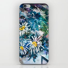Flowered Expression iPhone Skin