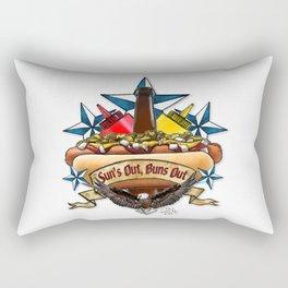 Ask Me About My Weiner Rectangular Pillow