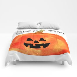 Trick or Treat Jack-O-Lantern, Halloween Pumpkin Comforters