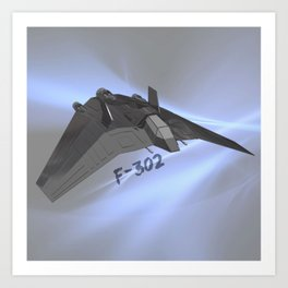 F-302 Art Print