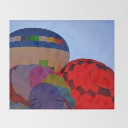 Hot Air Balloon Festival - II Throw Blanket