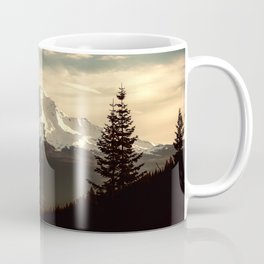 Mount Shasta Waking Up Coffee Mug