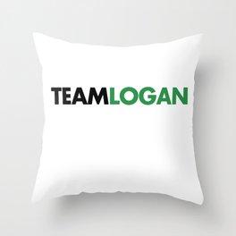 Team Logan Gilmore Girls Throw Pillow