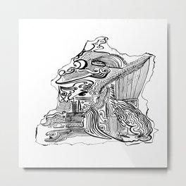 Encre de Chine 2009 Metal Print