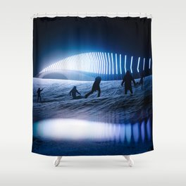 blinded by the lights Shower Curtain